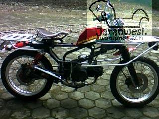 honda win twin rack | RiderJaranWesi