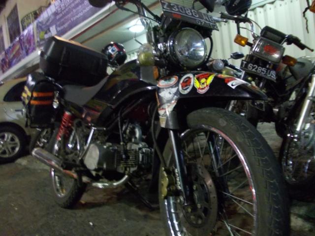 motor mas aris dari KAWIT